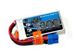 Akumulator Li-Po Dualsky 1300 mAh 35C/5C 7.4V