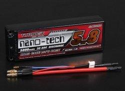 Akumulator LiPo TURNIGY NANO-TECH 5800mAh 7,4V 2S 30-60C