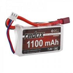 Redox 1100 mAh 7,4V 30C - pakiet LiPo