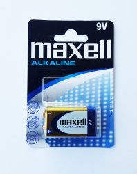 Bateria alkaliczna MAXELL ALKALINE 9V 6LR61