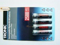 Akumulatorki TRONIC ENERGY AA 2500 mAh 4szt.