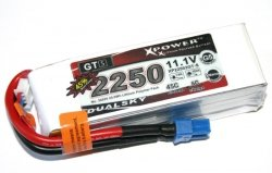 Akumulator Li-po Dualsky 2250 mAh 45C/6C 11.1V