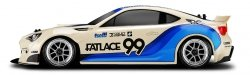 RS4 SPORT 3 DRIFT SUBARU BRZ 1/10 4WD ELECTRIC CAR