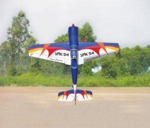 Model akroacyjny YAK 54  - Red/Blue/Yellow/White 1,7m ARF