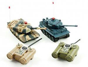 Zestaw 2 czołgów na podczerwień RC
