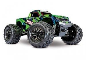 Traxxas Hoss 4X4 VXL - wersja zielona bezszczotkowy 4WD Monster Truck 2,4Ghz