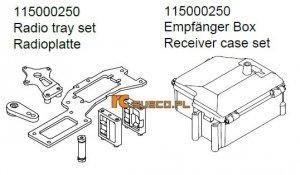 Radio tray set & reciver case set - Ansmann Virus