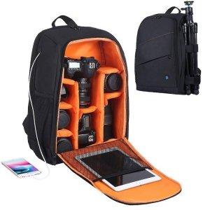 Puluz Plecak fotograficzny wodoodporny (czarny)