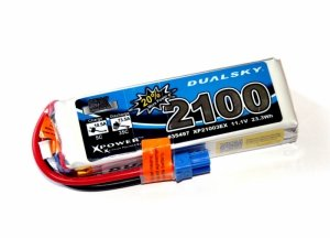 Akumulator Dualsky Li-Po 2100 mAh 35C/5C 11.1V