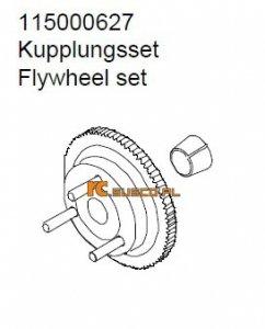 Flywheel set - Ansmann Virus