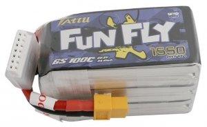 Akumulator LI-PO 1550mAh 22.2V 100C Funfly Series Gens Ace