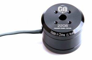 Silnik bezszczotkowy T-MOTOR GB2208 do gimbali