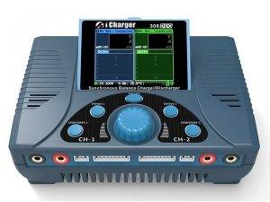 Ładowarka 2-kanałowa iCharger 308 DUO 1300W 2x30A LiPo 8S