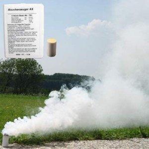 Świeca dymna mała AX-9 biała - 10szt