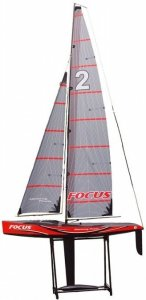 Żaglówka Focus II RTR (2.4GHz, 4CH, Wysokość 2042mm, Długość 995mm)