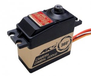 Serwo MKS BLS6650 (Gimbalowy, Obrót 360+, Niskie luzy i gładka praca, 6V, 0.12s/60)