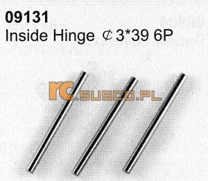 Inside hinges 3*39 6P