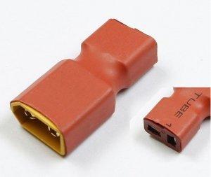 Przejście - wtyki XT60 (męskie)- DEAN T (żeńskie) - do akumulatorów