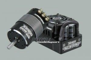 Zestaw XeRUN - regulator SCT PRO 120A + silnik SD 3656