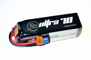 Akumulator Li-PoDualsky 2700mAh ULTRA 70C/12C 22.2V Voltage Meter