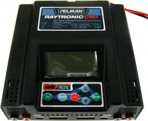 Ładowarka 2-kanałowa Raytronic C60 2x500W