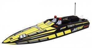 Motórówka RC JETPOWER HYDROJET 650mm speed boat - RTR silnik bezszczotkowy ESC 80A Li-po 11,1V 2600mAh