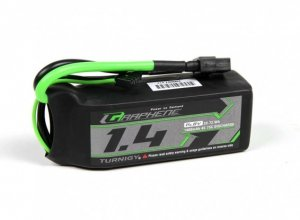Akumulator Turnigy LiPo Graphene 1400mAh 4S 75C Battery Pack w/XT60