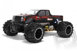 HIMOTO 1:5 MEGAP Monster truck 2,4GHz LCD 26ccm benzyna