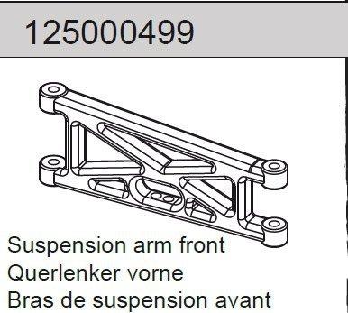 Suspension arm front Mad Rat