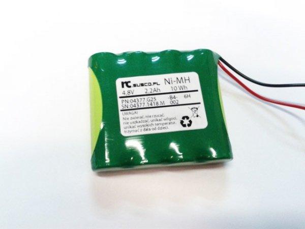 Pakiet 4,8V - 4 x AA GP 2200mAh - pakiet odbiornika/nadajnika pł