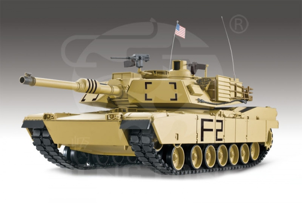 U.S. M1A2 Abrams 2.4 GHz 1:16 desert 3918-1