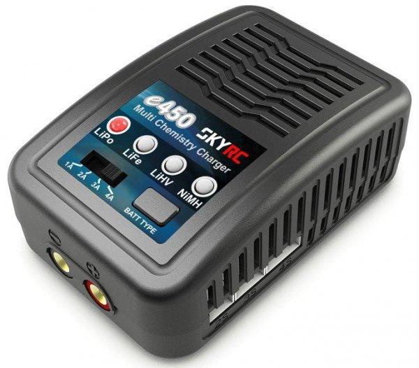 Ładowarka SkyRC e450 2-4S / 6-8S LiPo / LiFe / LiHV / NiMH 230V
