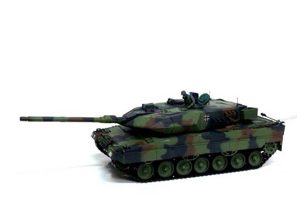Czołg Leopard 2A6 2.4 GHz 1:16 camo green 3889-1