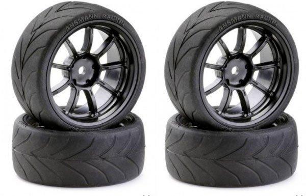Koła Drift Tire 1/10 Black ANSMANN-RACING