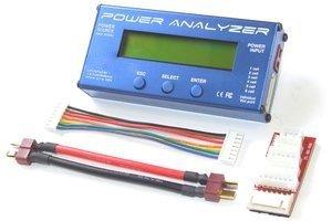Power Analyzer 100A/60V - miernik, balanser, tester akumulatorów