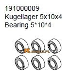 Bearing 5*10*4 - Ansmann Virus