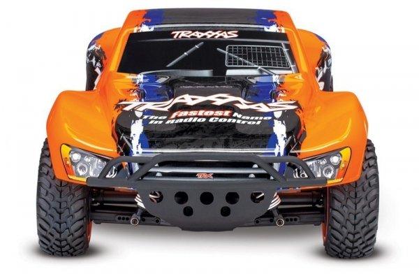 Traxxas 1/10 4X4 SLASH TSM - bezszczotkowy wersja pomarańczowa
