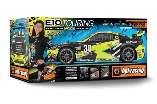 HPI RTR E10 MICHELE ABBATE GRRRACING TOURING CAR
