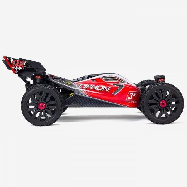 Arrma Typhon Buggy 1:8 4WD 3S RTR czarna