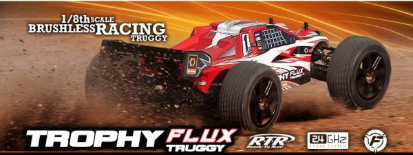 HPI Trophy Truggy Flux RTR 2.4GHz-BRUSHLESS