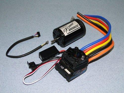 Silnik trójfazowy EXCEED Car 1:10 3.5T S + regulator