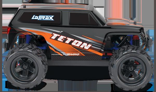 TRAXXAS POWERED 1/18 LaTrax Teton 4WD 2,4 GHZ