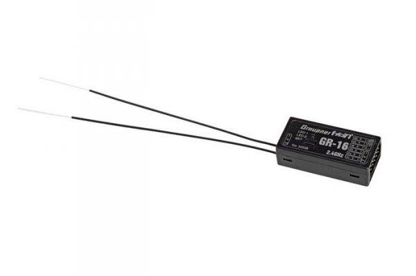 Graupner - Odbiornik GR-16 HoTT 2,4 Ghz