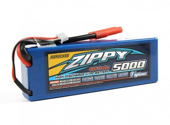 Akumulator LI-PO ZIPPY 5000mAh 30C 2S1P 7,4V