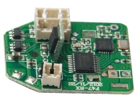 F647-012 PCB Of Receiver - Elektronika