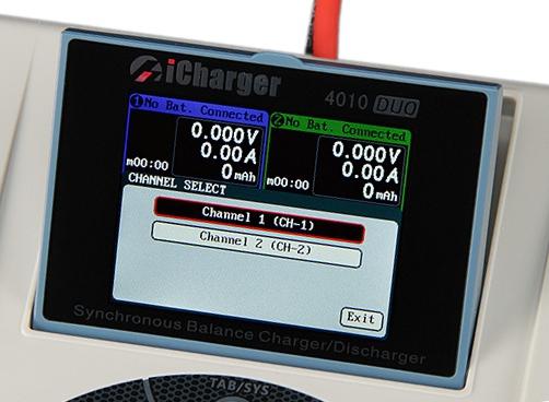 iCharger 4010 DUO ładowarka 2000W 2x40A LiPo 2x10s