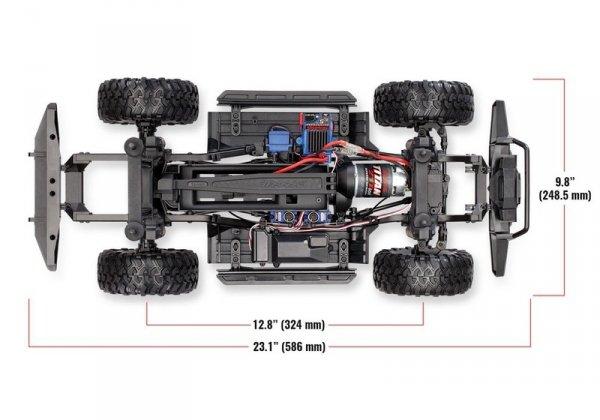 Traxxas TRX-4 Land Rover Defender 1:10 TQi RTR