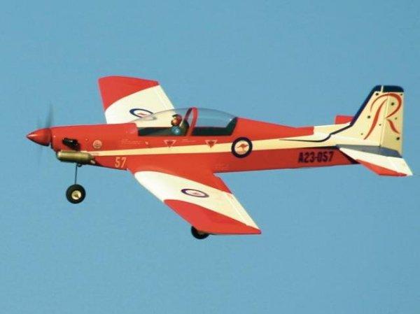 Pilatus PC9 Roulette (40-46) 1540mm ARF - SEA012 Seagull