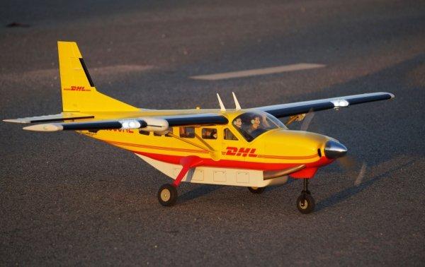 Samolot Cessna 208 Grand Caravan 1.7m .55 EP-GP AirCargo ARF - VQ-Models