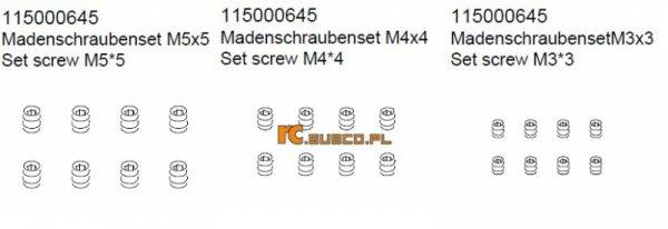 Fix screw Set - Ansmann Virus